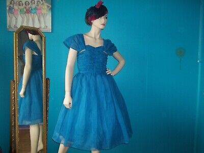 £44.99 • Buy ORIGINAL 1950's Ball Gown/Prom Dress Size 8