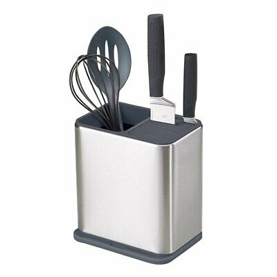 AU58.95 • Buy JOSEPH JOSEPH Surface Utensil Pot Stainless Steel Caddy Sink Area Organiser