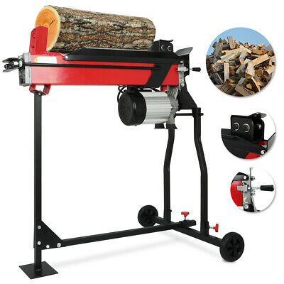 Electric 7 Ton Hydraulic Log Splitter Fast Wood Timber Cutter 2200 W Of Power • 295.63£