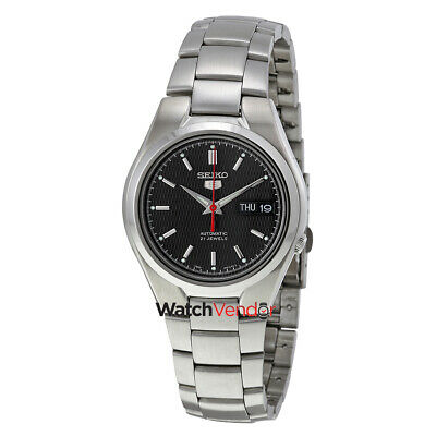 $ CDN147.99 • Buy Seiko Series 5 Automatic Black Dial Mens Watch SNK607