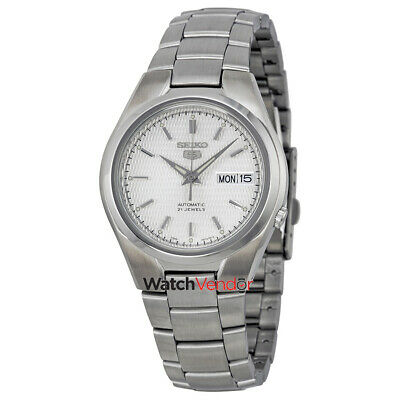 $ CDN132.99 • Buy Seiko 5 Automatic Silver Dial Stainless Steel Mens Watch SNK601