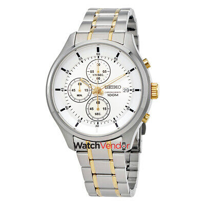 $ CDN161.99 • Buy Seiko Chronograph Silver Dial Mens Watch SKS541