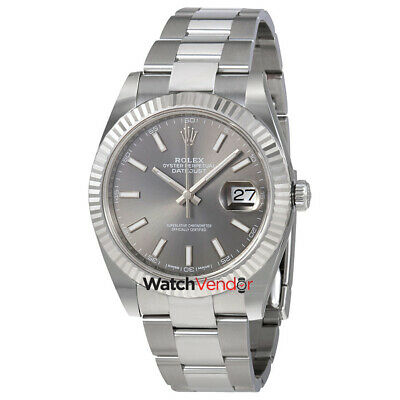 $ CDN15903.99 • Buy Rolex Datejust Dark Rhodium Automatic Mens Oyster Watch 126334RSO