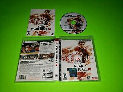 AU119.21 • Buy NCAA Basketball 10 PlayStation 3 PS3 TESTED VERY GOOD COMPLETE 2010 2K10 NBA