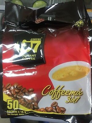 AU23.30 • Buy 50 Sachets X 16g Vietnamese Trung Nguyen G7 Instant Coffee 3 In 1 Coffeemix