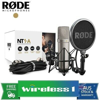 AU279.95 • Buy Rode NT1-A Studio Condenser Microphone Recording Package (NT1A)