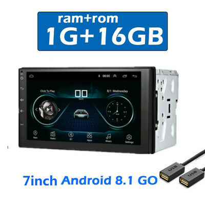 $112.75 • Buy 7  Touch Screen 2DIN Android GPS Navigation Car Stereo Radio Player Multimedia