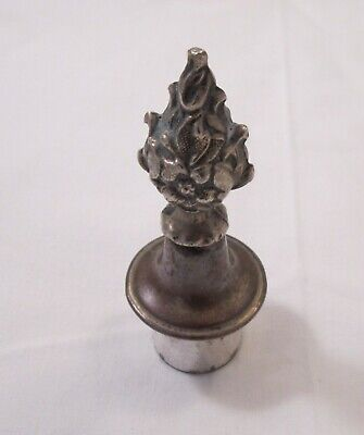 A Good Old Sheffield Plate Candle Top / Candle Snuffer / Holder C1820 • 16£