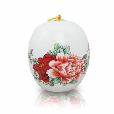 $49.49 • Buy Peony Ceramic Cremation Urn For Ashes - Medium  White