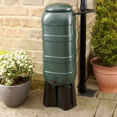 £32.99 • Buy Slimline Water Butt 100L Kit With Stand (Green) - Pre-drilled Holes