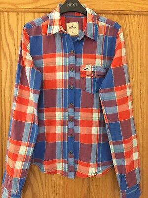 Ladies Hollister Checked Shirt Size XS • 5£