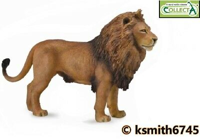 £6.65 • Buy CollectA MALE LION Solid Plastic Toy Wild Zoo Animal Cat Predator * NEW *💥