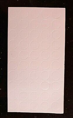 £1.75 • Buy 50 X Double Sided Sticky White 3D Foam Dots/Pads/Spots Card Craft 1mm Thick