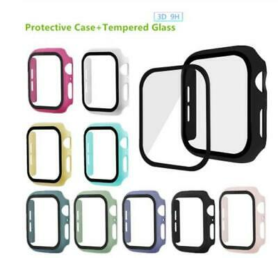 AU9.99 • Buy New 3D Tempered Glass Full Case Cover For Apple Watch Series 2345 38 40 42 44mm