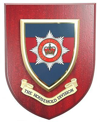 Household Division Classic Hand Made  Regimental Mess Plaque • 19.99£
