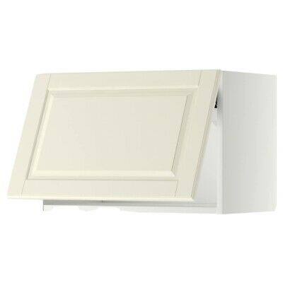 IKEA Metod Wall Cabinet Horizontal White With Bodbyn Door 60cm X 40cm • 30£
