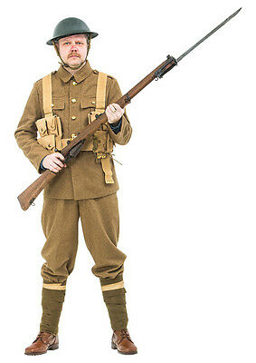 WW1 British Army Uniform With Webbing And Helmet - Made To Order • 395£
