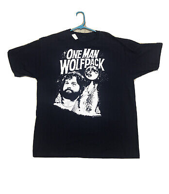 £9.81 • Buy The Hangover T Shirt One Man Wolf Pack Zach Graphic Tee Size XL