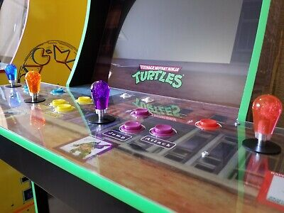 $17.95 • Buy 4 Translucent Joystick Bat Tops For Arcade1up TMNT Teenage Mutant Ninja Turtles
