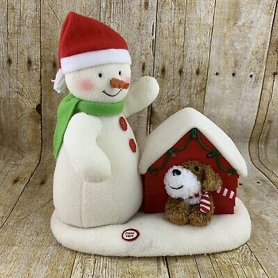 $39.99 • Buy Hallmark Jingle Pals 2011 Merry Carolers SEE VIDEO Snowman Dog Doghouse