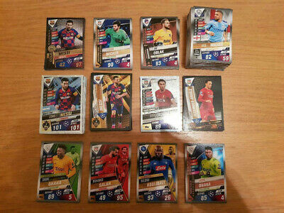 Match Attax 101 Season 2019/20 All World Stars/club Heroes/shutout Stars/midfiel • 1.40£