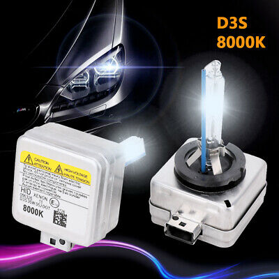 AU52.59 • Buy 2X D3S 35W Headlights Xenon HID Bulbs 8000K Replacement For Ford Land Rover Jeep