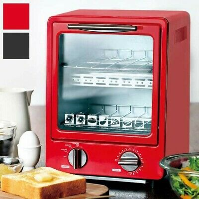 £73.63 • Buy LITHON D-Stylist Oven Toaster 2-Floors Compact And Stylish Vertical Electric Red