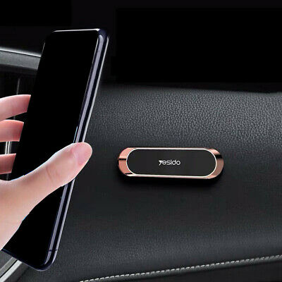 AU7.45 • Buy Car Phone Holder Stand Strip Shape Magnetic For Smart Phone Magnet Car Accessory