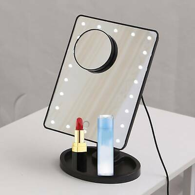 22 Led 5x Magnifying Touch Screen Light Make-up Cosmetic Tabletop Vanity Mirror • 8.39£