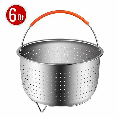 $15.77 • Buy Sturdy Steamer Basket For 6or8 Quart Instant Pot Pressure Cooker Stainless Steel