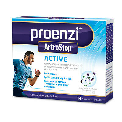 Proenzi Artrostop Active,Helps Maintain The Health Of Joints, Bones And Muscles • 24.99£