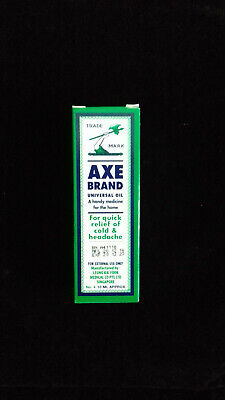 $4.90 • Buy New Singapore Axe Brand Universal Medicated Oil 10ml Cold Headache Muscular Pain