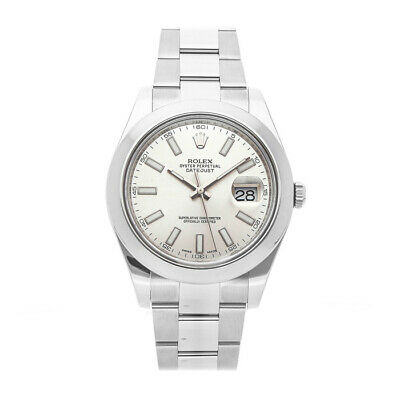 $ CDN8765.54 • Buy Rolex Datejust II Steel Auto 41mm Silver Dial Mens Watch Oyster Bracelet 116300