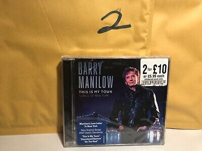BARRY MANILOW This Is My Town (2017) 10-track CD Album NEW/SEALED • 2.50£