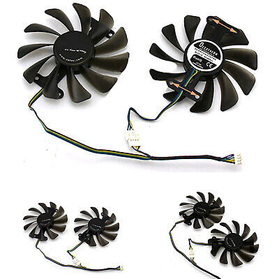 AU21.07 • Buy Graphics Card GPU Cooling Fan Cooler For ZOTAC GeForce GTX 1080 1070 AMP Edition