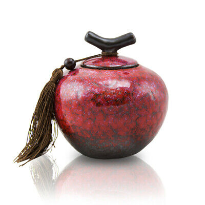 $39.49 • Buy Branch Ceramic Pet Cremation Urn For Ashes - Small Sakura Pink