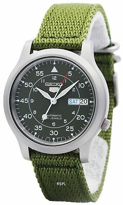 $ CDN136.84 • Buy Seiko 5 Military Automatic Nylon SNK805K2 Men's Watch