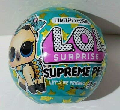 $ CDN31.22 • Buy LOL Surprise! Supreme Pet Ball Pack Lucky Luxe Pony Limited Edition New Sealed