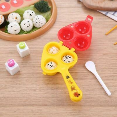 Japanese Children Rice Ball Maker Sushi Mold DIY With Spoon Kitchen Bento Tools • 6.11£