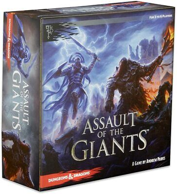 AU80.16 • Buy WizKids Dungeons & Dragons Assault Of The Giants Board Game *NEW* **FAST SHIP**