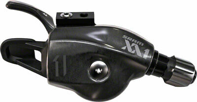$144.95 • Buy SRAM XX1 11-Speed Trigger Shifter Black Logo With Handlebar Clamp Cable And