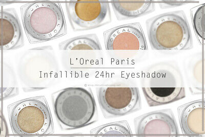 🎄 L'Oreal Color Infallible Eyes 24Hr Powder Eyeshadow - Assorted 🎄 • 3.49£