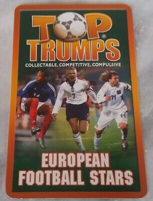TOP TRUMPS European Football Stars 2004 - Single Cards • 1.60£