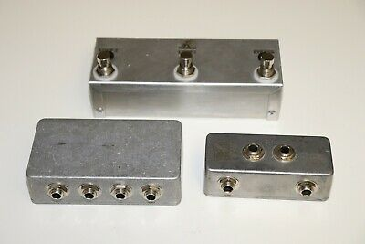 $ CDN138.04 • Buy Loop Master Pedals Looper & Patch Bay Set 3pc Lot Guitar FX Effects Pedal Switch