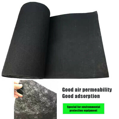 AU14.02 • Buy Fabric 1x1m 1x Carbon Filter Activated Newly 3mm Air Conditioner Purifier Pre