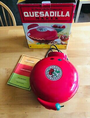$39.99 • Buy El Paso Chili Company Quesadilla Maker - Used Once