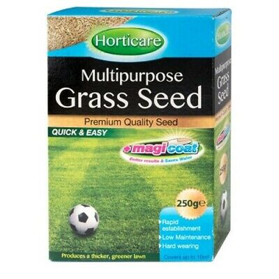 £7.99 • Buy Horticare Multipurpose Grass Seed MagiCoat Premium Thicken Green Lawn Quick Easy