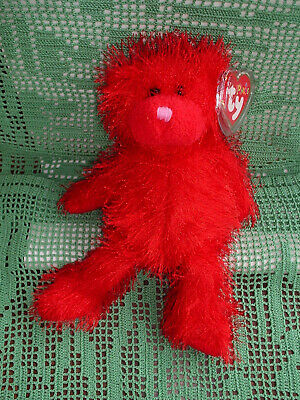 £3.99 • Buy TY PUNKIES Sizzles The Bear (Retired) MWMT 2002