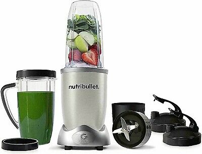 AU210 • Buy Nutri Bullet 1200 Power Series Silver 10 Piece Blender Set Compact Magic Bullet