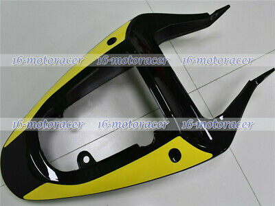 $155.22 • Buy Rear Tail Cowl Fairing Fit For GSXR 600 750 1000 2001-2002 K1 K2 Yellow Black